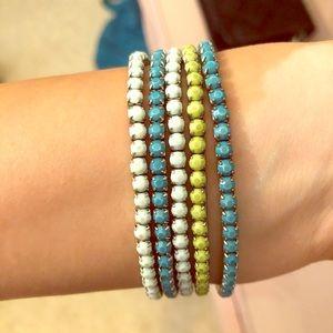 Jewelry - Color bracelets